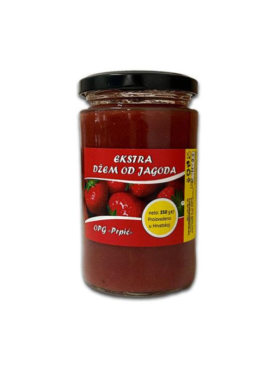 Family Farm Prpić strawberry jam in glass jar of 350g