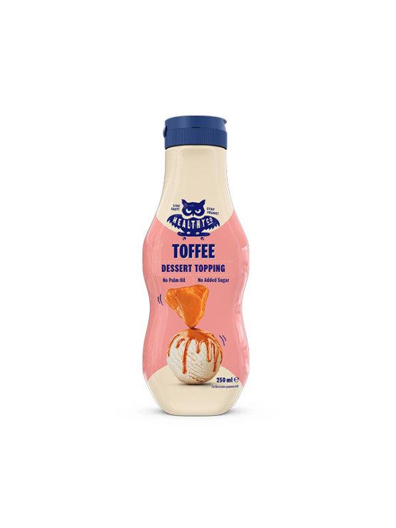 HealthyCo toffee preljev bez dodanog šećera u plastičnoj ambalaži od 250ml s dozatorom
