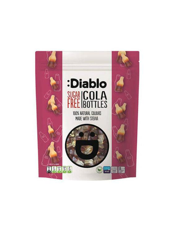 Diablo sugar free cola bottles gummy candies 75g