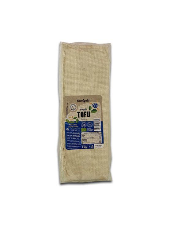 Nutrigold organski svježi gastro tofu u vakumiranoj prozirnoj ambalaži od 1000g