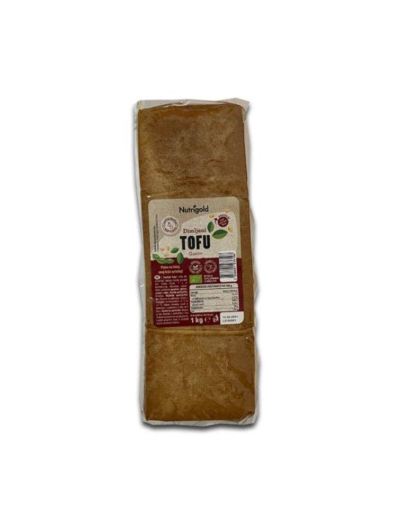 Nutrigold organski dimljeni gastro tofu u vakumiranoj prozirnoj ambalaži od 1000 grama