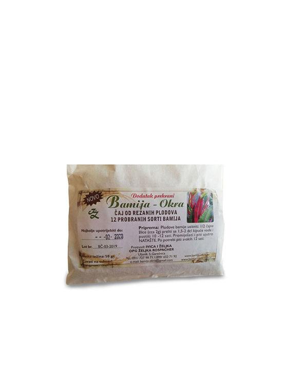 Bamija čaj od bamije u pakiranju od 50g
