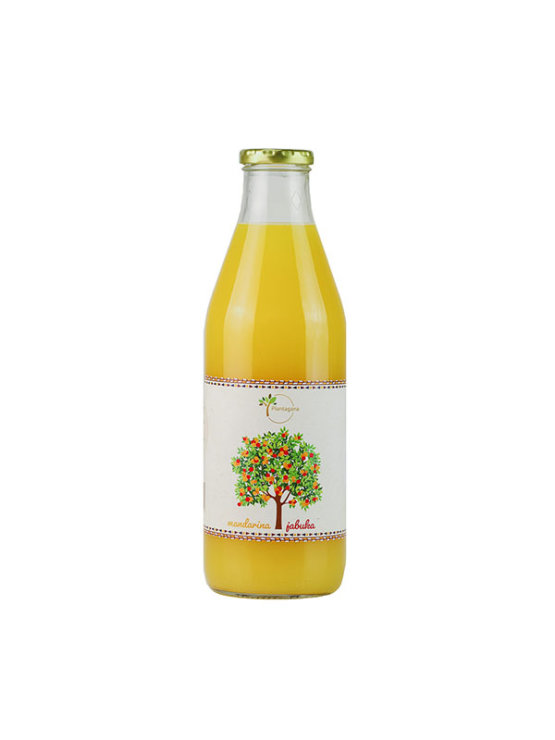 Plantagana sok od mandarine i jabuke u staklenoj ambalaži od 1000 ml