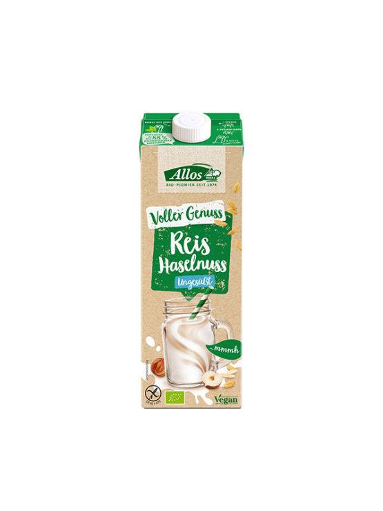 Allos organski napitak od riže s lješnjakom u tetrapak ambalaži od 1000 ml