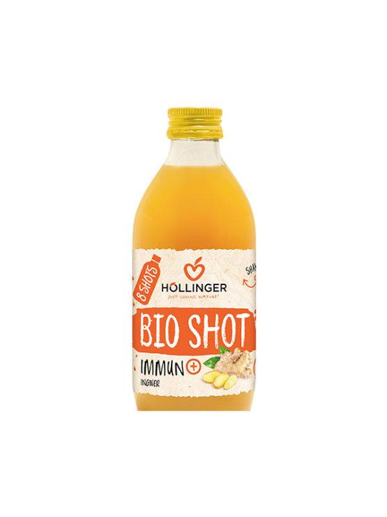 Organski Hollinger immun+shot sok od đumbira i jabuke u staklenoj ambalaži od 330 ml