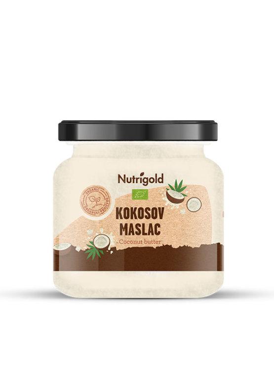 Nutrigold organski kokosov maslac u staklenci 250 g