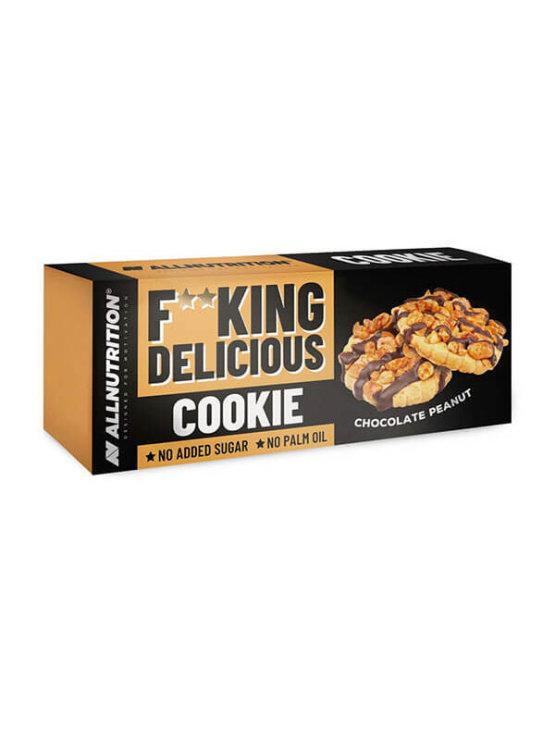 Keksi s čokoladom i kikirikijem bez šećera 150g - All Nutrition