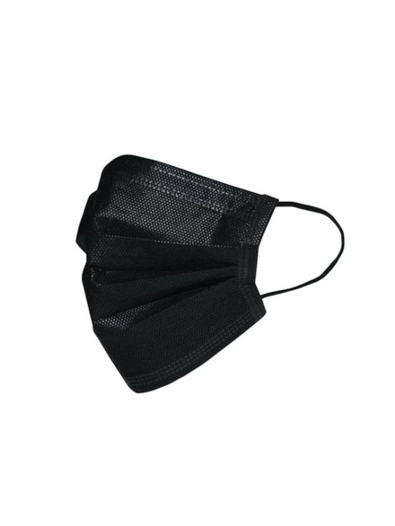 Humble non-woven three layer face mask, 10 pcs in a plastic bag