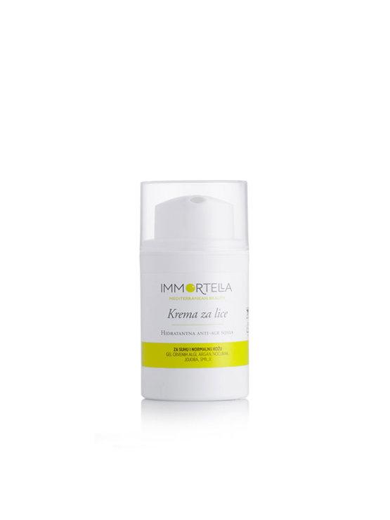 Immortella hidratanta anti-age krema za lice u ambalaži od 50 ml s pumpicom