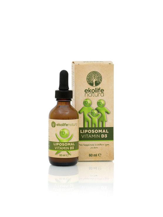 Ekolife Natura liposomalni vitamin D3 u staklenoj ambalaži od 60ml