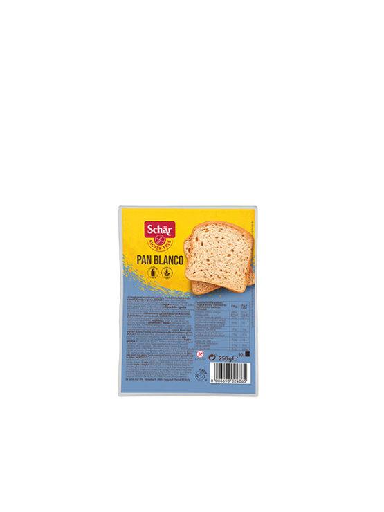 Schar Pan Blanco bezglutenski bijeli kruh u pakiranju od 250g