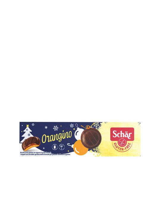 Schar bezglutenski keksi s narančom preliveni tamnom čokoladom u pakiranju od 150g