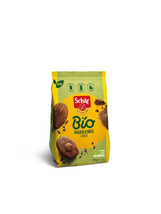 Schar organski Madeleines čokoladni keksi s bademom bez glutena u pakiranju od 150g