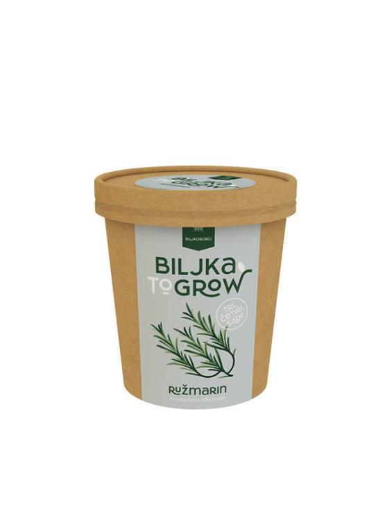 Biljkoborci ružmarin biljka 2 grow u ambalaži od 300g