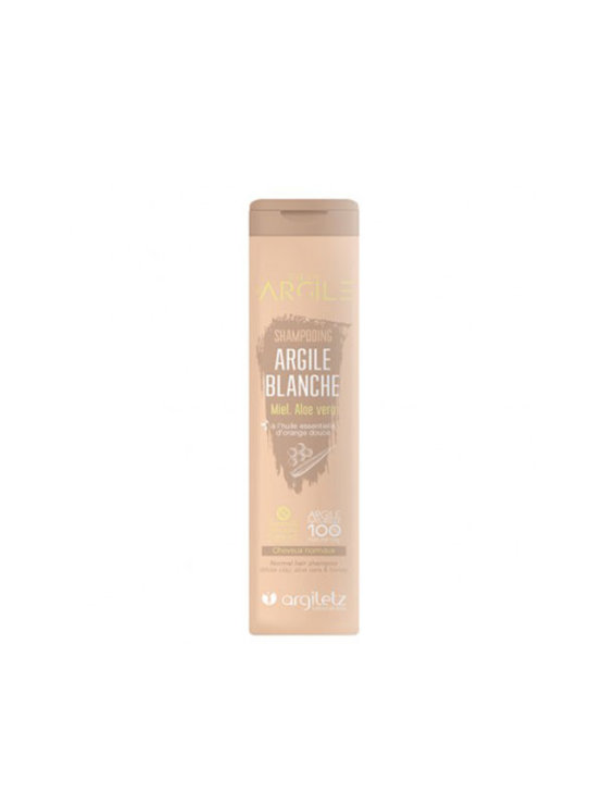 Argiletz šampon za kosu od 200 mlbijele gline u tubastoj ambalaži od