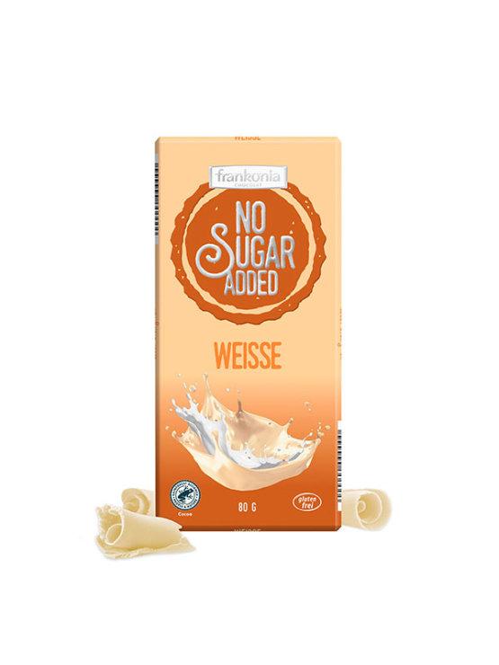 Frankonia bijela čokolada bez dodanog šećera u ambalaži od 80g