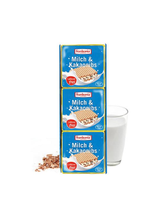Frankonia vafel keksi od mlijeka i kakao zrna u pakiranju 3x21g