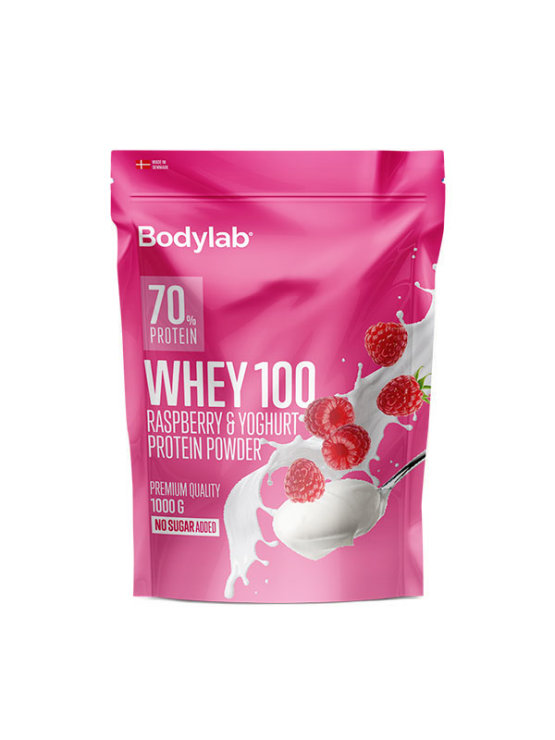 Bodylab Whey 100 - 1kg Malina & Jogurt