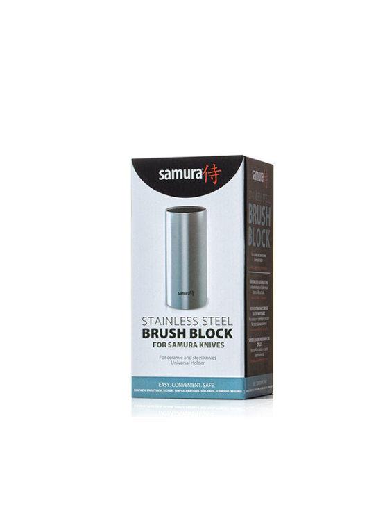 Samura Bamboo Brush block od nehrđajućeg čelika 220mm