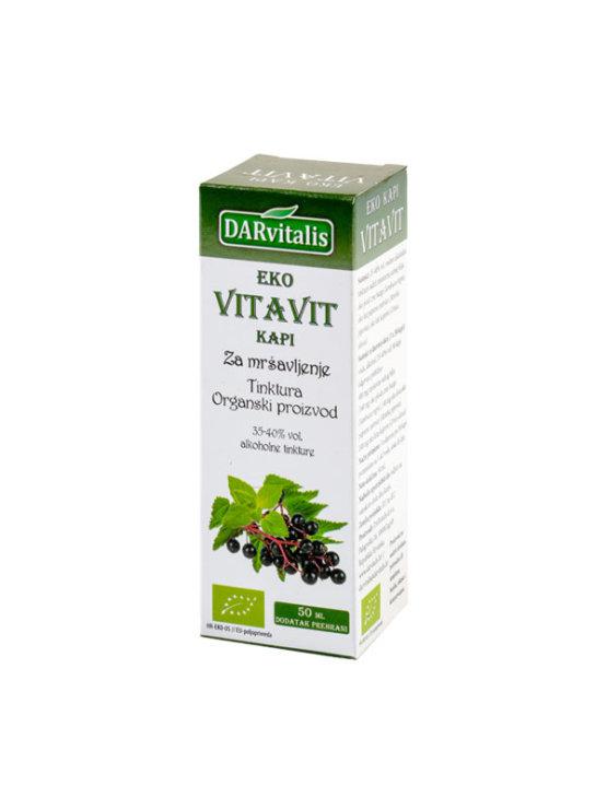 Darvitalis organske vitavit kapi za mršavljenje u tamnoj staklenoj ambalaži od 50 ml