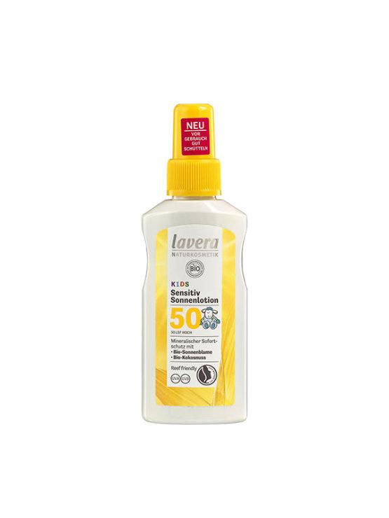 Lavera dječji prirodni sprej za zasštitu od sunca sa zaštitnim faktorom 50 u ambalaži od 100 ml