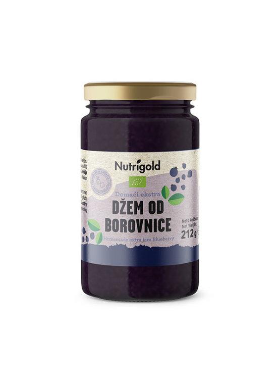 Organski Nutrigold domaći ekstra džem od borovnice u staklenoj ambalaži od 212g