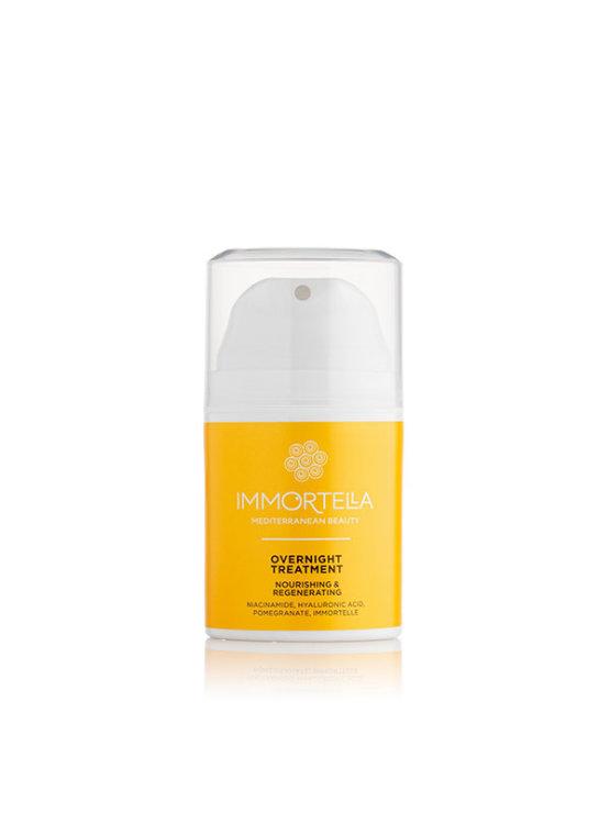 Immortella krema za lice overnight treatment u narančastoj tubastoj ambalaži od 50 ml