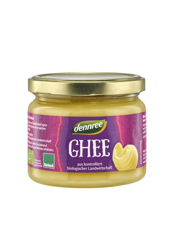Organski Dennree Ghee pročišćeni maslac u staklenoj ambalaži od 240g