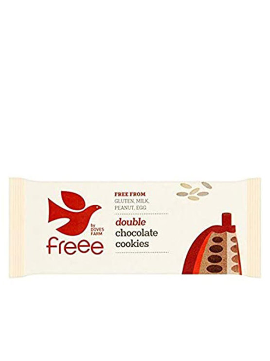 Organski Freee keksi bez glutena double chocolate u pakiranju od 180g
