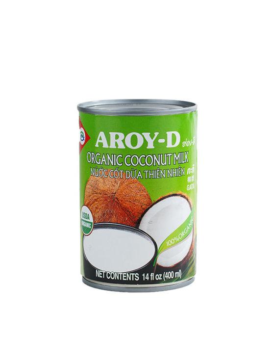 Organsko Aroy-D kokosovo mlijeko s 19% masti u ambalaži od 400ml