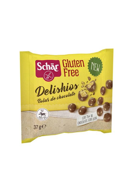 Schar čokoladni keksi u obliku kuglica bez glutena u žutoj vrečici od 37g