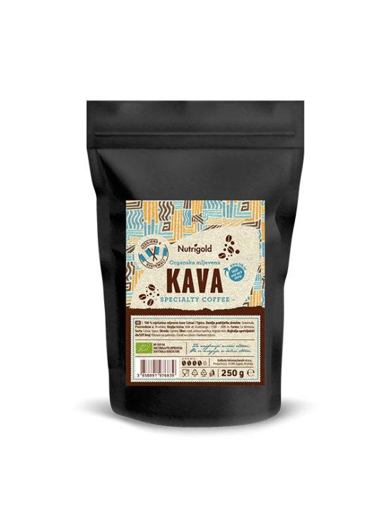 Nutrigold Kava mljevena - Specialty coffee Organska u crnoj plastičnoj ambalaži 250g