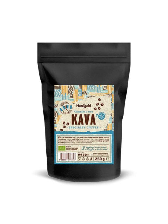 Nutrigold Kava u zrnu - Specialty coffee Organska u crnoj plastičnoj ambalaži 250g
