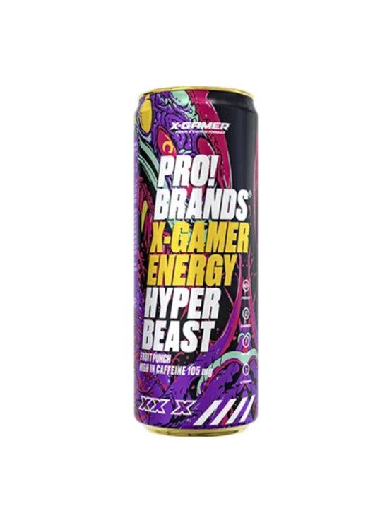 X-GAMER Hyper Beast napitak  330ml - fruit punch  Fcb Brands