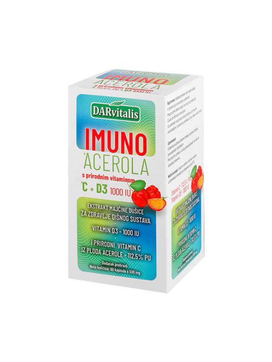 DARvitalis imuno acerola s vitaminom C + D3
