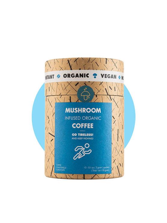 Mushroom Cups organska instant kava obogaćena gljivama u tubastoj ambalaži od 30g