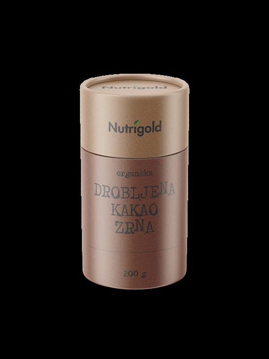 Organska kakao drobljena zrna u tubastoj ambalaži od 200g